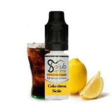 Жидкость для электронных сигарет Solub Cola citron Sicile