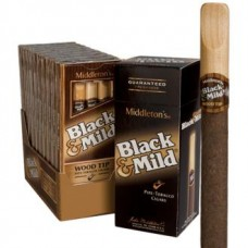 Жидкость для электронных сигарет TPA Mild Black / Cigarillo  Flavor